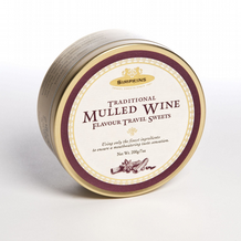 Simpkins Mulled Wine Flavour Travel SweetsTin 200g